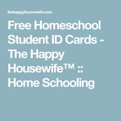 How to make a photo id for homeschool teachers and for Homeschool id template