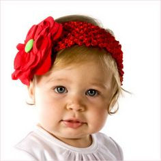 Crochet Headbands for Baby Girls