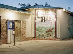 Mighta been here once or twice. Crystal Bar, Alpine, Texas
