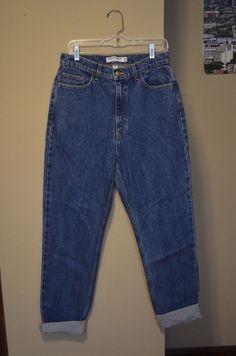 75dc930ed33 American Apparel Size 30 Medium Wash High-Waisted Blue Jeans  fashion   clothing