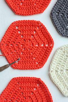 How to Crochet a Basic Hexagon
