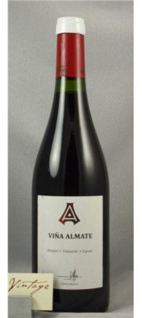 2011 Bodegas Alfredo Maestro Tejero Vina Almate Vino de la Tierra Wines, Canning, Bottle, Wine Cellars, Earth, Flask, Conservation