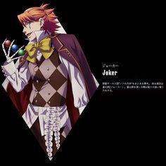 Black Butler: Book of Circus ~~ Joker voiced by the inimitable Mamoru MIYANO