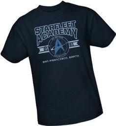 Amazon.com: Cadet Athletic Insignia -- Starfleet Academy -- Star Trek Adult T-Shirt: Clothing