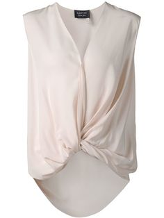 Shop Lanvin draped top in Luisa World from the world's best independent boutiques at farfetch.com. Shop 300 boutiques at one address.