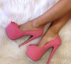 Zapatos rosados!