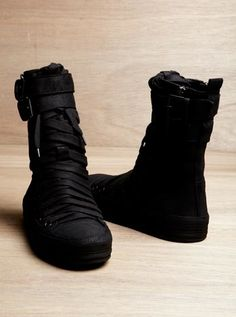 WANT - by Ann Demeulemeester. I'm sure I can't afford them so I'm not even going to look.