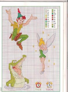 sandylandya@outlook.es sandylandya@outlook.es Peter pan cross stitch