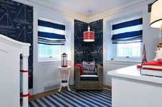 interior in maritime style