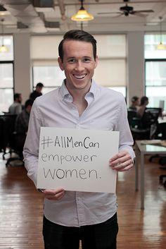 35 Men Show Us What Real Men's Activists Look Like - Mic #ImagineActLead #UVaWomensCenter