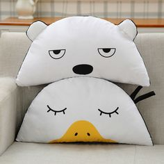 $24.90 (Buy here: https://alitems.com/g/1e8d114494ebda23ff8b16525dc3e8/?i=5&ulp=https%3A%2F%2Fwww.aliexpress.com%2Fitem%2F2016-New-Kids-Toys-White-Stuffed-Plush-Kids-Doll-Semicircle-Baby-Pillow-Cute-Duck-Cushions-Home%2F32666297934.html ) Lucky Boy Sunday Korea Fashion Duck Bear Shape Cotton Throw pillow Semicircle Cute Cartoon Animal Cushion Gifts For Children for just $24.90