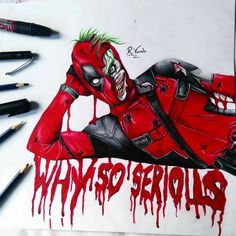 deadpool funny drawings - Google Search