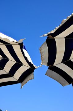 Umbrella Stripes | via howsweeteats