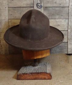 If you are looking for a hat that grew popular during the embattled moments of the Old West and is seeing a revival in use again, then the Montana Peak Cowboy Hat is the perfect choice for you. This style is often found in old photographs of cowboys and trail hands. It was also made common by use with the Canadian Mounties and into modern times by many in law enforcement as well as scouting organizations. As will all of our hats the pencil in the brim is required due to our use of only…