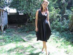 Little Black Eco Dress by SisterOrganics on Etsy, £112.00
