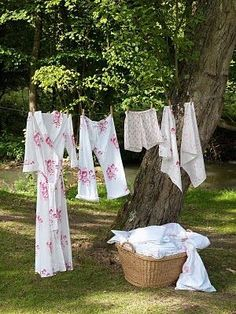 Next theme: Laundry Day at the cottage.