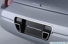 The Thunderbird that Ford should have built | Supercharged Ford Thunderbird concept car