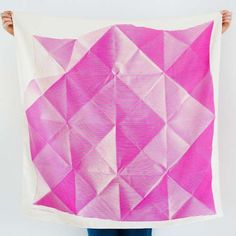 Link Collective Furoshiki, Folded by Lucinda Newton-Dunn
