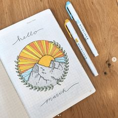 100 Bullet Journal Theme Ideas by Month Jihi Elephant March Bullet Journal, Bullet Journal Cover Page, Bullet Journal Notebook, Bullet Journal Inspo, Bullet Journal Spread, Bullet Journal Layout, Journal Covers, Bullet Journal Doodles Ideas, Bullet Journal Months
