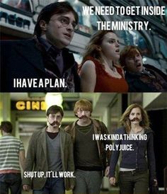 And this is why Hermione is necessary...