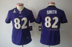 http://www.yjersey.com/new-nike-ravens-82-smith-purple-women-limited-2013-super-bowl-xlvii-jersey.html NEW #NIKE RAVENS 82 SMITH PURPLE WOMEN LIMITED 2013 SUPER BOWL XLVII JERSEYOnly$36.00  Free Shipping!