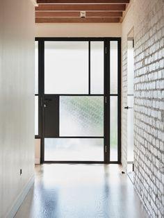 Nice way to let light in through a door