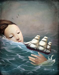 'Voyage' by Christian  Schloe on artflakes.com as poster or art print $22.17
