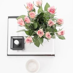Beautiful roses . Picture of the day . .  .  .  .  #flatlay #roses#flowers#onthebedproject #coffeetime #coffeeandclothes #bylassen#kubus#onthetableproject #everydaystories#pictoftheday