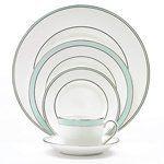 "Vera Wang Blue Duchesse Dinner Plate by Vera Wang. $34.95. WEDGWOOD. 10.75""D. BONE CHINA. WEDGWOOD by VERA WANG BLUE DUCHESSE DINNER PLATE"