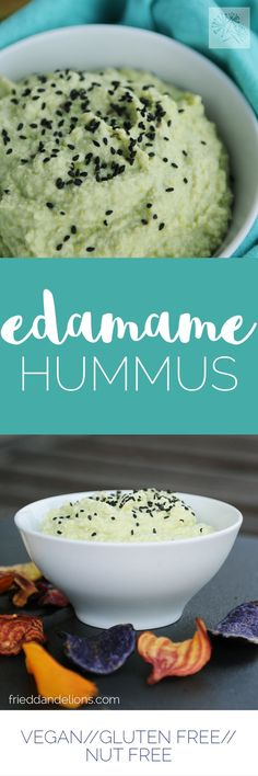 Edamame Hummus—a coo