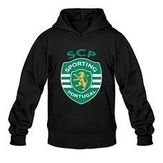 Man Sporting Clube De Portugal Custom Cool Size L Color Black Sweatshirts By Mjensen