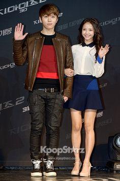 Yong Jun-Hyung and Actress Ha Yeon Soo