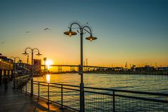 Kemah Boardwalk Sunset One of my favorite places to go