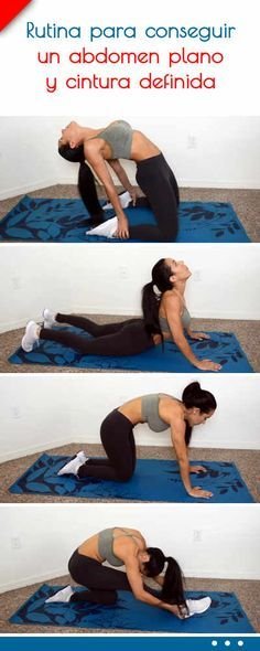 21 Ideas fitness mujer gym abdomen plano for 2019 Yoga Fitness, Yoga Gym, Routine, Pilates Video, Workout Bauch, Yoga For Weight Loss, Stay In Shape, Health And Fitness Tips, Excercise