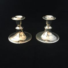 A personal favorite from my Etsy shop https://www.etsy.com/ca/listing/257899729/silverplate-candlesticks-pair-of-silver