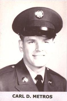 Virtual Vietnam Veterans Wall of Faces | CARL D METROS | ARMY