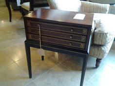 Box on legs made by Century Furniture