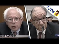 This is remarkable - although it shouldn't be. This is what it looks like to live without fear for those in power. // Bernie Sanders Shreds Alan Greenspan To His Smug Face - YouTube