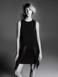 Sigrid Agren by David Sims for Sportmax Fall/Winter 2013/2014 Campaign