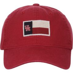 Zephyr Men's University of Houston Flag Cap (Red, Size One Size) - NCAA Licensed Product, NCAA Men's Caps at Academy Sports
