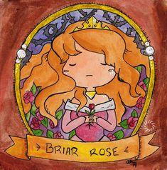Original Watercolor Painting - Briar Rose