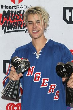 Justin Bieber at the #iHeartRadioAwards