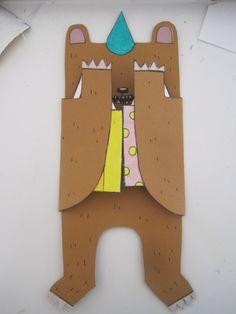 Adorable diy bear bday card