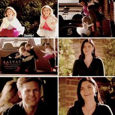 this was beautiful. jo got to see alaric and her kids. [8x16] #tvd #jolaric