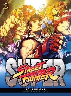 Super Street Fighter Vol. 1: New Generation HC | UDON Entertainment