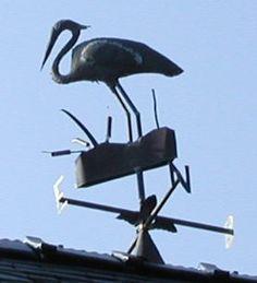 Egret/Crane? Weathervane