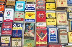 Vintage Packaging: Mustard Tins — The Dieline - Package Design ...