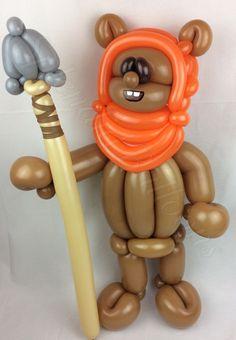 Balloon art, amazing, cool, party, splendid balloons, John Justice, cute, adorable, amazing, California, Star, wars, ewok, classic, speak, bear, small, little, short, fluffy, masks, hoodie,