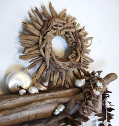 Driftwood Art Ideas | art. Actually, check out the whole web page filled with driftwood art ...