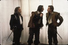 Still of Gary Oldman, Richard Dreyfuss and Tim Roth in Rosencrantz and Guildenstern are dead